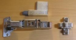 Blum CLIP top 71T6650, mit Schließautomatik und Blumotion
